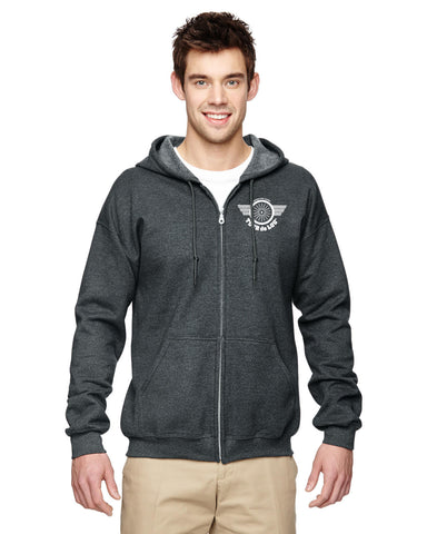 KDF Tour de Lou Full Zip Hooded Sweatshirt