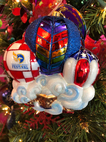 2019 Christopher Radko Wild Bluegrass Yonder KDF  Ornament