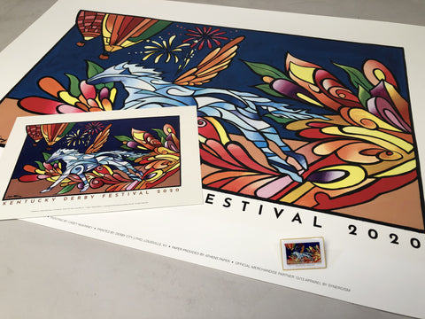 2020 Kentucky Derby Festival Official Poster Collection SALE!