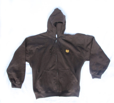 UPS Full Zip Hooded Sweatshirt