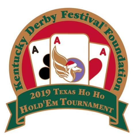 2019 HO-HO Hold 'Em Metal  Event Pin