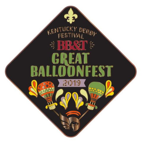 2019 BalloonFest Metal Pin