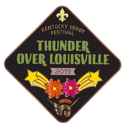 2019 Thunder Metal Event Pin