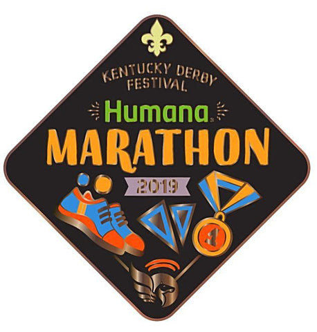 2019 Marathon Metal Event Pin