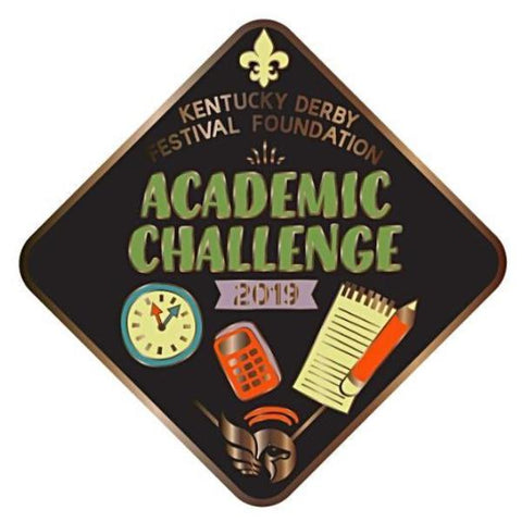 2019 Academic Challenge Metal Event Pin