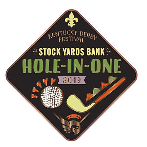 2019 Hole In One Metal Event Pin