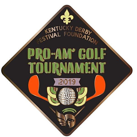 2019 Pro-Am Golf Tournament Metal Event Pin