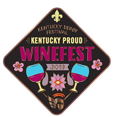2019  Winefest Metal Event Pin
