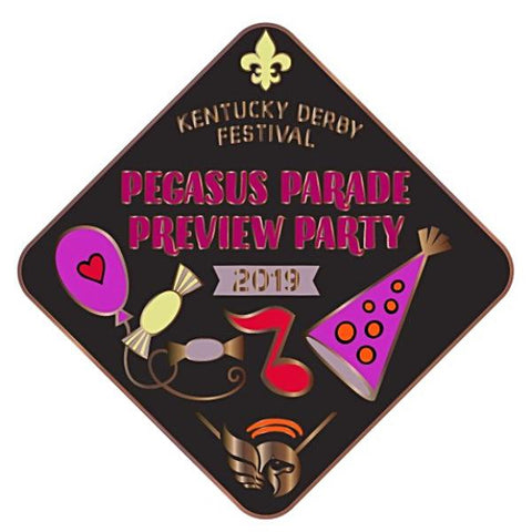 2019 Pegasus Parade Preview Metal Pin