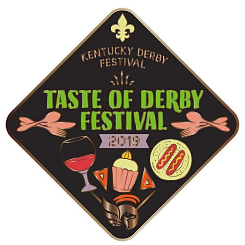 2019 Taste of Derby Festival Metal Pin