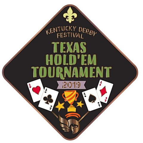 2019 Texas Hold'Em Metal Event Pin