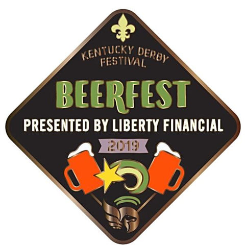 2019 BeerFest Metal Event Pin