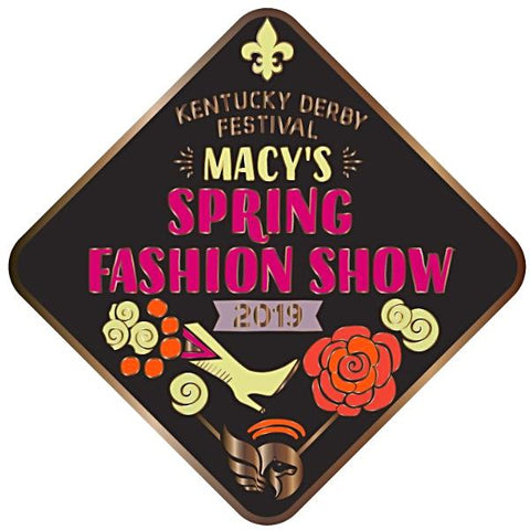 2019 Spring Fashion Show Metal Event Pin