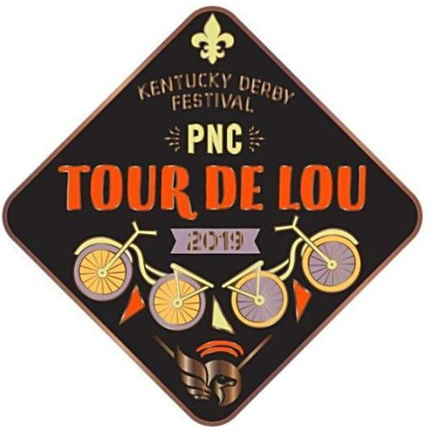 2019 Tour de Lou Metal Event Pin
