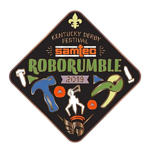 2019 Robo Rumble Metal Pin