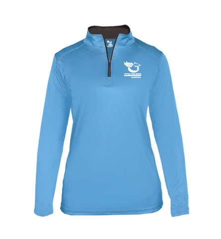Women's Quarter-Zip Badger - B-Core