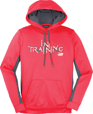Ladies Performance Hoodie - Coral