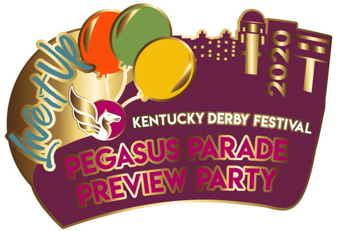 2020 Pegasus Parade Preview Party Metal Pin