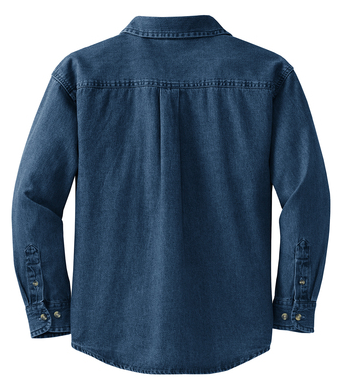 Semonin Realtors - Ladies' Long Sleeve Denim Shirt