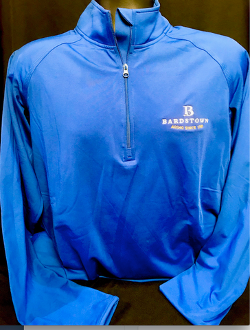 Embroidered 1/4 Zip - Royal
