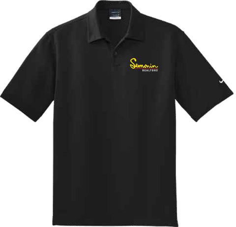 Semonin Realtors - Men's Nike Dri-Fit Pebble Texture Polo