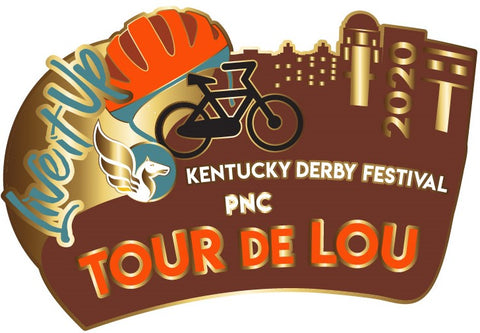 2020 Tour de Lou Metal Pin