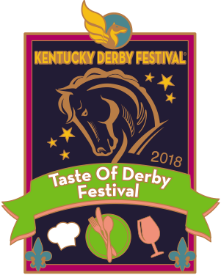 2018 Taste of Derby Festival Pin