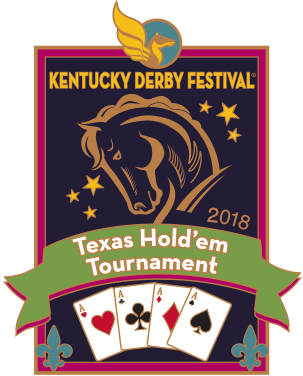 2018 Metal Texas Hold'em Tournament Pin