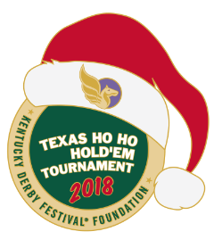 2018 Metal Texas Ho Ho Hold'Em Tournament Pin