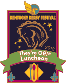 2018 They're Off Luncheon Pin