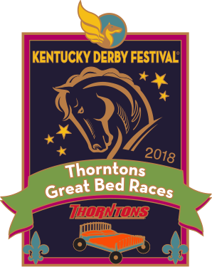 2018 Metal Great Bed Races Pin