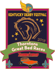 2018 Thorntons Great Bed Races Pin