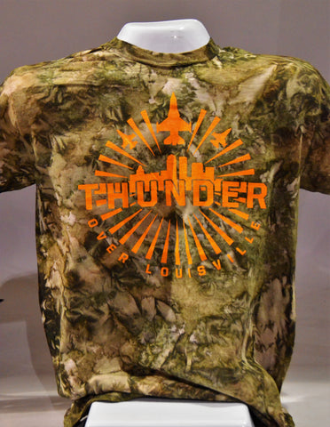 Thunder Tie Dyed Camo T-Shirt