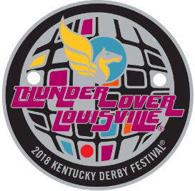 2018 Thunder Over Louisville Light Up Pin