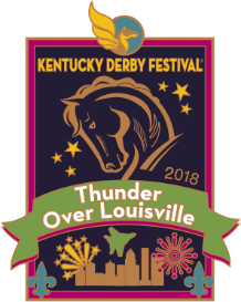 2018 Metal Thunder Over Louisville Pin