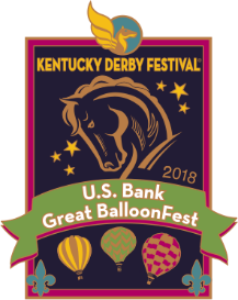 2018 Metal U.S Bank Great BalloonFest Pin