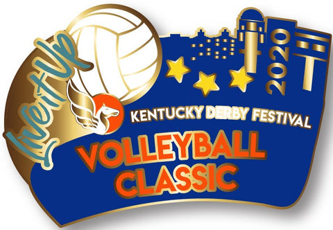 2020 Volleyball Classic Metal Pin