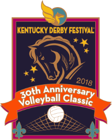 2018 30th Anniversary VolleyBall Classic Pin