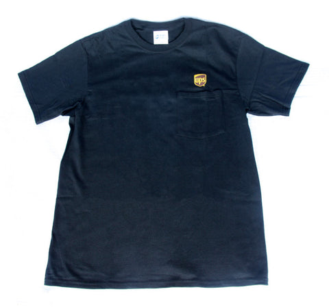 UPS Pocket T-Shirt Embroidered