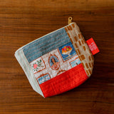 One of a Kind Quilted Notions Pouch - Hanging Photos 2
