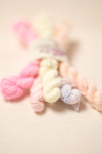 Mini Skein Bundle (5 skeins Pastel)