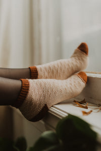 KNITTING PATTERN: Bunchberry Socks