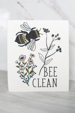 Load image into Gallery viewer, Swedish Dishcloth Bee Clean