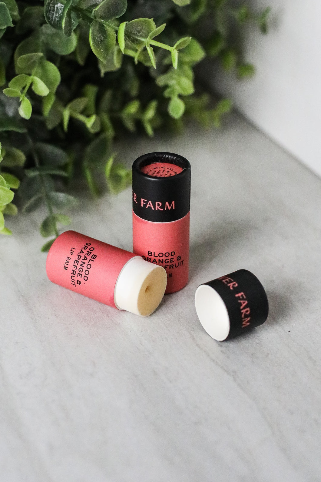 Good Flower Farm Lip Balm Blood Orange & Grapefruit