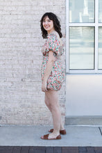 Load image into Gallery viewer, Floral Babydoll Romper Large