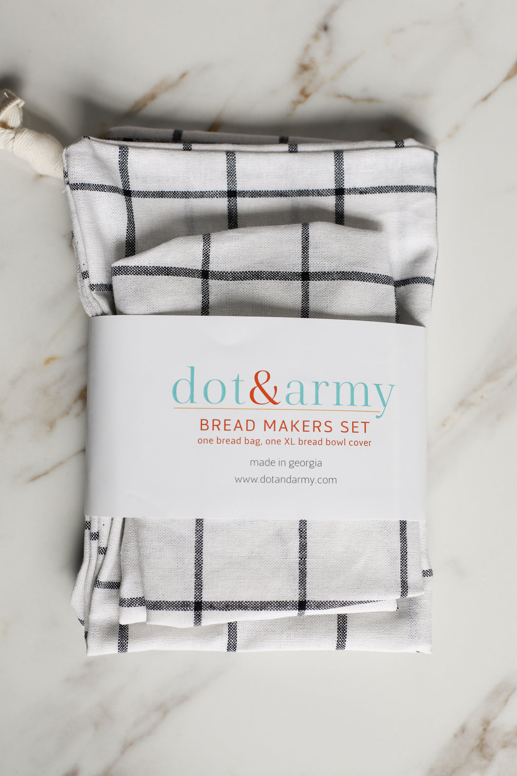 Dot & Army Bread Makers Set Windowpane