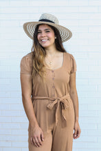Load image into Gallery viewer, Camel Jumpsuit Small