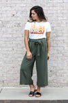 Olive Trousers Large
