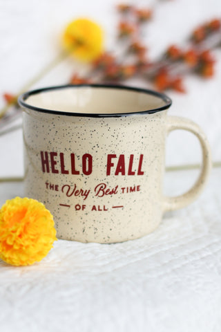Fran & Co Campfire Mug - Hello Fall