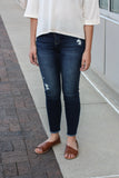 High Rise Ankle Skinny Jeans 5/26